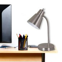 Brushed Steel Desk Lamp