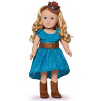 "My Life As 18"" Caucasian with Blonde Hair Cowgirl Doll"