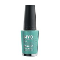 NYC New York Color In A New York Minute Nail Color Mint'ed on Broadway