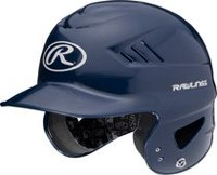 Casque T-ball Coolflo de Rawlings en bleu marin