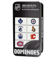 NHL Canadian Team Dominoes Double Six Collector Edition