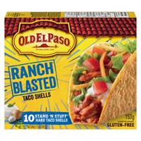 Old El Paso Special Edition Ranch Blasted Stand N Stuff Taco Shells
