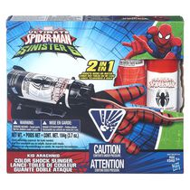 Marvel Spider-Man Kid Arachnid Color Shock Slinger Toy