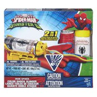 Marvel Spider-Man Iron Spider Color Shock Slinger Toy