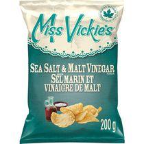 Miss Vickie's Sea Salt & Malt Vinegar Kettle Cooked Potato Chips