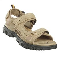 Weather Spirits Mens' Kenny Sandal Tan 13
