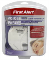 First Alert Combination Alarm with Voice Alert