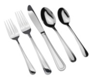 Home Trends 40 piece 18/10 Stainless Steel Flatware Set