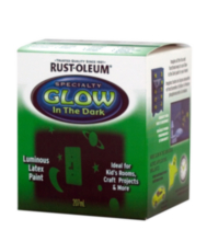 rust oleum specialty glow in the dark paint 207ml rust oleum specialty. Black Bedroom Furniture Sets. Home Design Ideas