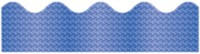 Carson-Dellosa Blue Sparkle Scalloped Border