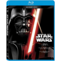 Star Wars : Un Nouvel Espoir/L'Empire Contre-Attaque/Le Retour Du Jedi (Blu-ray + DVD) (Bilingue)