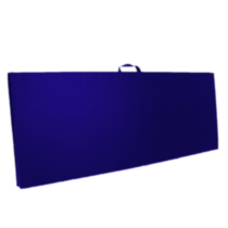 Apple Athletic Exercise Mat - Royal Blue 2' x 5' x 2""
