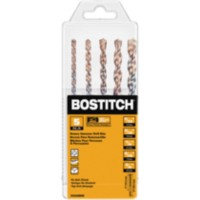 BOSTITCH 5 Piece Hammer Drill Bit Set (BSA52005M)