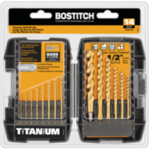BOSTITCH 14-Piece Titanium Drill Bit Set (BSA1S14TM)