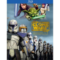 Star Wars : The Clone Wars - Saisons 1-5 (Édition De Collection) (Blu-ray) (Bilingue)
