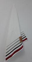 "CANADIANA - MAPLE LEAF - BEACH TOWEL - WHITE - 34""X64"""