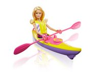 Barbie Camping Fun Kayak & Accessories