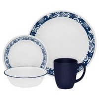 Corelle® True Blue Dinnerware Set 16pc