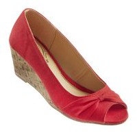 George Women's Ahoy Wedges Red 6