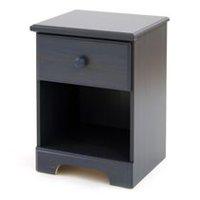 table de chevet 1 tiroir collection summer breeze de meubles south shore - Table De Nuit Rustique