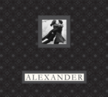 K&Company collimage 12x12 Frame-a-Name Alexander