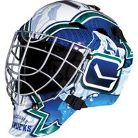 Franklin Sports NHL Vancouver Canucks Goalie Face Mask