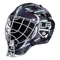 Franklin Sports GFM 1500 NHL Los Angeles Kings Goalie Face Mask