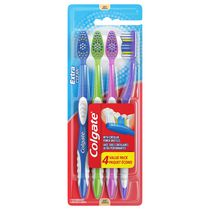 Colgate Extra Clean Toothbrush Value Pack, Soft