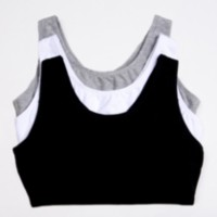 Fruit of the Loom, Built Up Sports Bra White 44