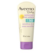 Aveeno Baby Mineral Sunscreen Lotion for Sensitive Skin SPF 50