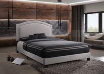 ACME Garresso Queen Bed in Fog Fabric