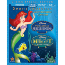 The Little Mermaid II: Return To The Sea / The Little Mermaid: Ariel's Beginning (3-Disc Special Edition) (Blu-ray + DVD)