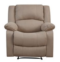 Fauteuil inclinable Douglas de Lifestyle Beige