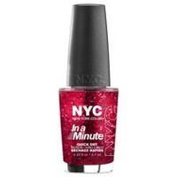 NYC New York Color In A New York Minute Nail Color Ruby Slippers