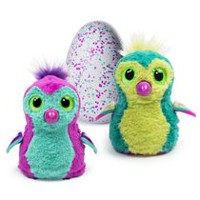 Hatchimals Interactive Creature Penguala Teal Hatching Egg