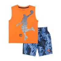 AND1 Toddler Boys' Jam On It 2 Piece Outfit Set 4T