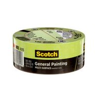 Scotch® 48 mm x 55 m Green Masking Tape for Professional Painting