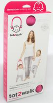 Tot2Walk Baby Walking Aid without Harness Pink