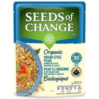 Seeds of Change® Organic Indian Style Pilau Basmati Rice with Lentils & Chickpeas