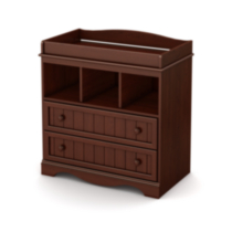 South Shore Savannah Collection Changing Table Red