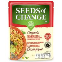 Seeds of Change® Spanish Style Wholegrain Rice with Quinoa, Red Bell Peppers & Corn