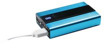 Craig 6600mAh Portable Power Bank with Dual USB Charging Port.