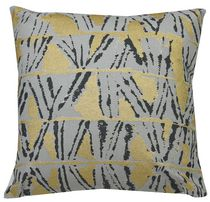 Ivory Park Golden Shapes Decorative Throw Cushion