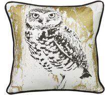 Ivory Park Snow Owl Decorative Throw Cushion