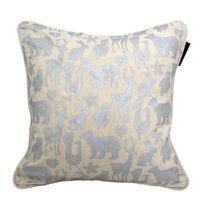 Ivory Park Animal Farm Silver Decorative Throw Cushion