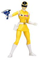 Power Rangers Legacy Mighty Morphin Yellow Ranger Action Figure
