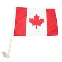 "Islandwide 10"" x 15"" Car Window Canada Flag"