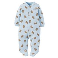 Child of Mine made by Carter's Newborn Boys' Sleep N Play Outfit - Monkey Print 3-6 months