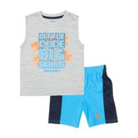 AND1 Toddler Boys' Big Skills 2 Piece Outfit Set 3T