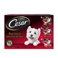 CESAR Beef Selects Wet Food for Small Dogs